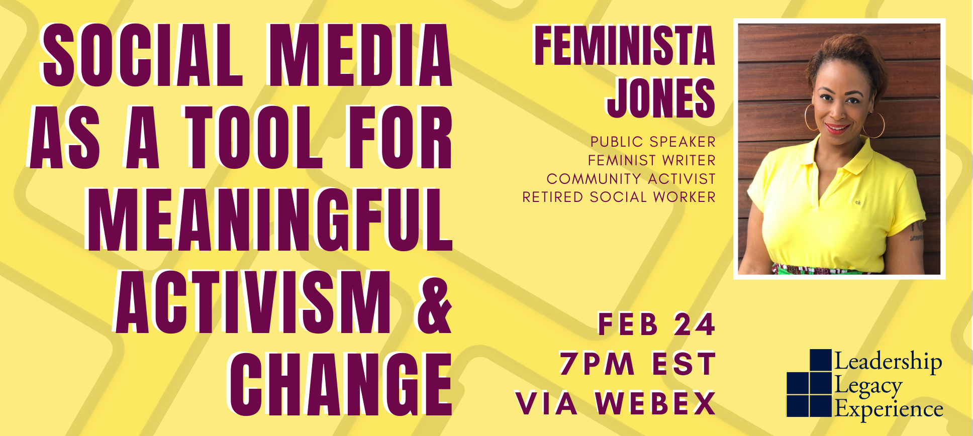Social Media as a Tool for Meaningful Activism & Change web